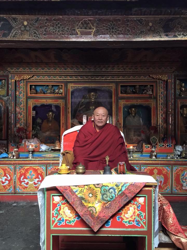 Дрикунг Кьябгон Четцанг Ринпоче. Паломничество в Лапчи. Март-Апрель 2015